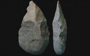 Ancient Stone Tools Responsible for Human Language Evolution