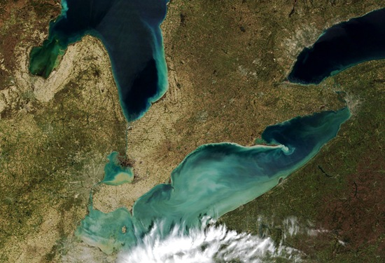 Researchers claim another reason behind the dead zones in the Great Lakes