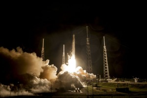 SpaceX: Rocket Launch Was Successful; Booster Had a Hard Landing