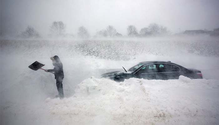 The Snowstorms Sweeping the Northeast Are Linked to Global Warming