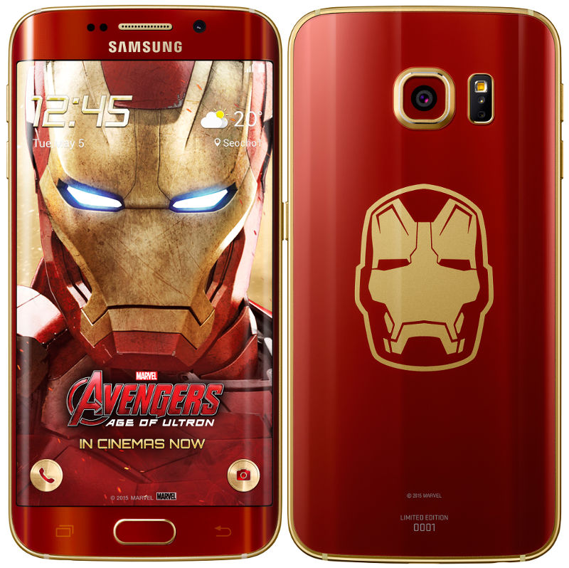 Galaxy s6-s6 edge iron man edition techweez.