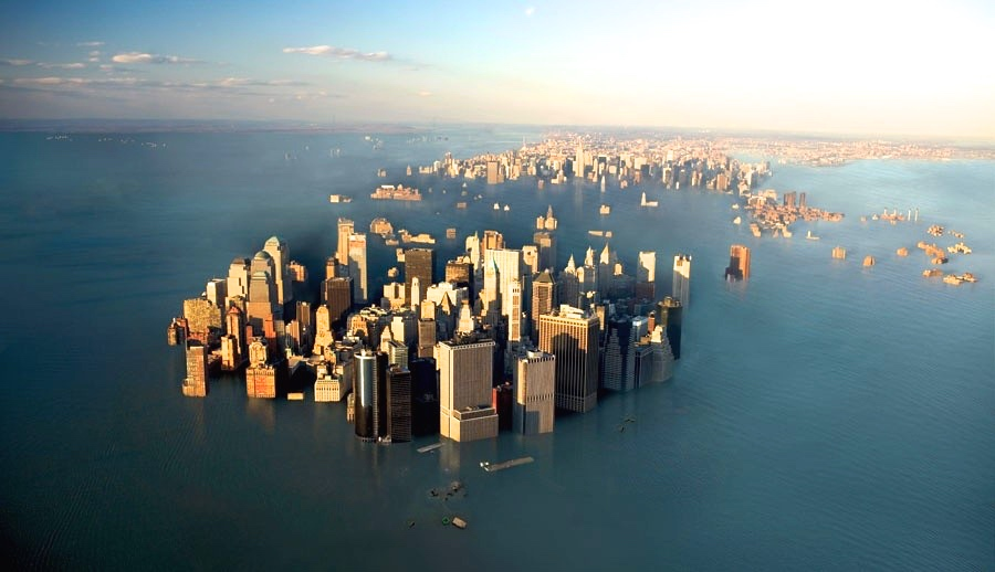 Rates Of Sea Level Rise Have Accelerated In The Past Two Decades - Sea level rise map 2050