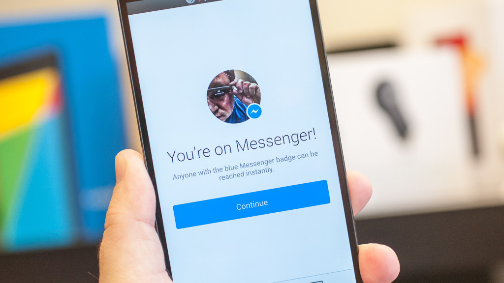"""photo magic to facebook messenger"""