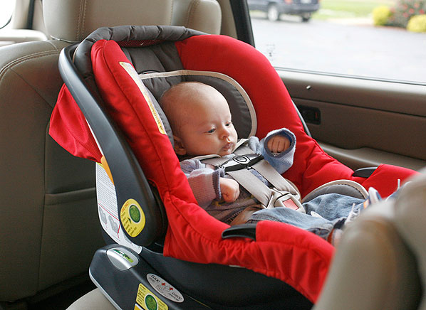 "alt=""Car seats and newborns"""