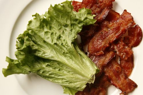 lettuce and bacon