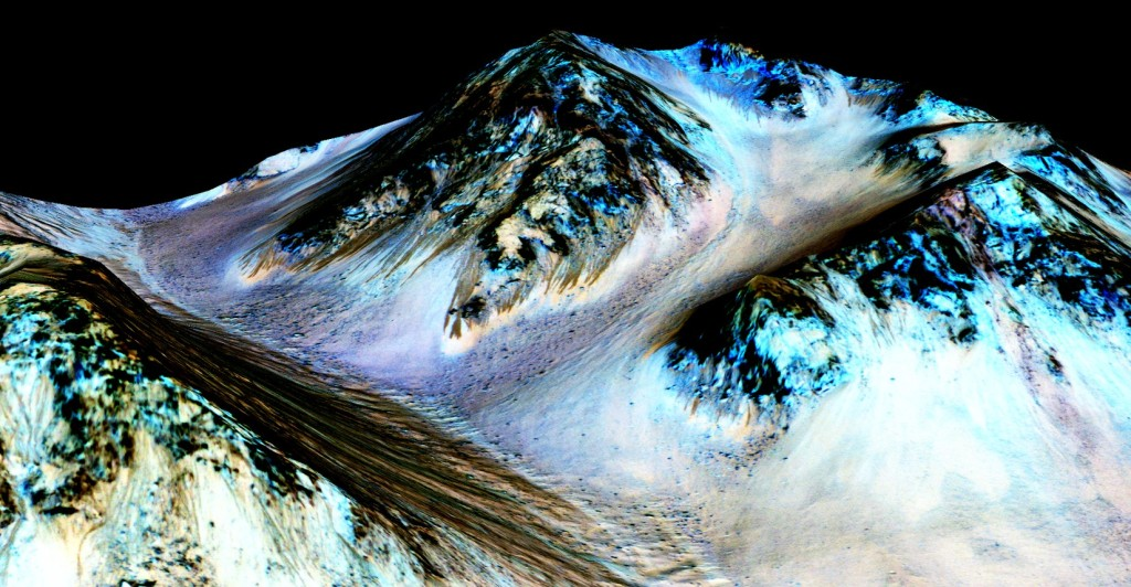 water on mars nasa