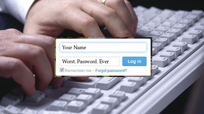 worst passwords