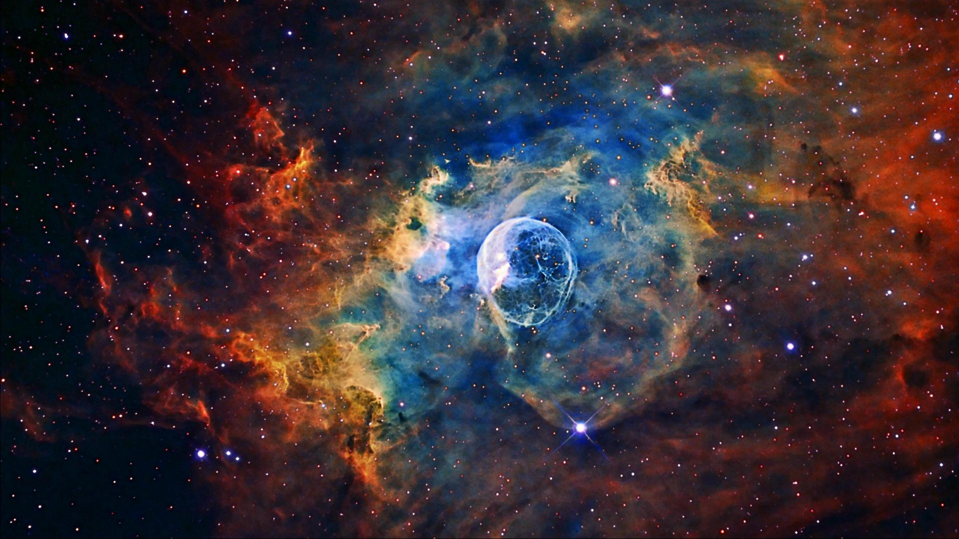 Hubble photographed the planetary nebula NGC 3918