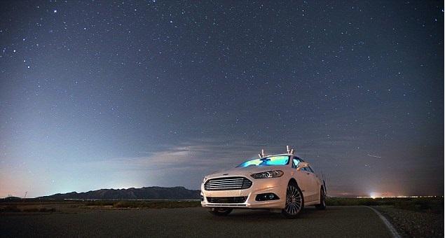 "alt=""Ford self-driving car"""