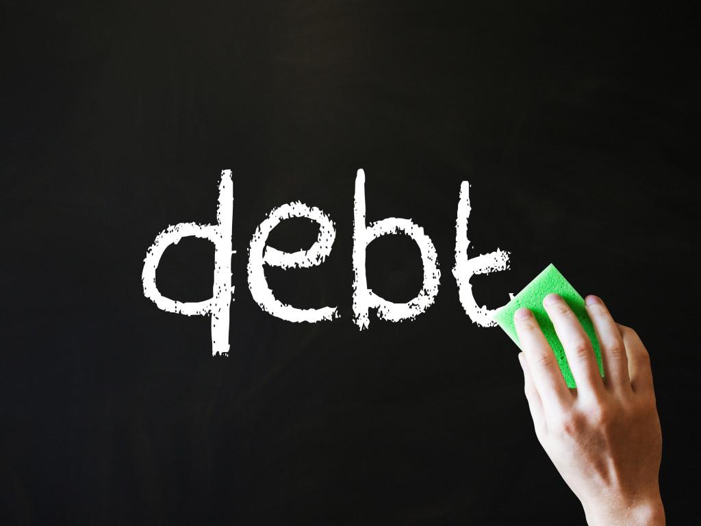 'Erasing Debt'