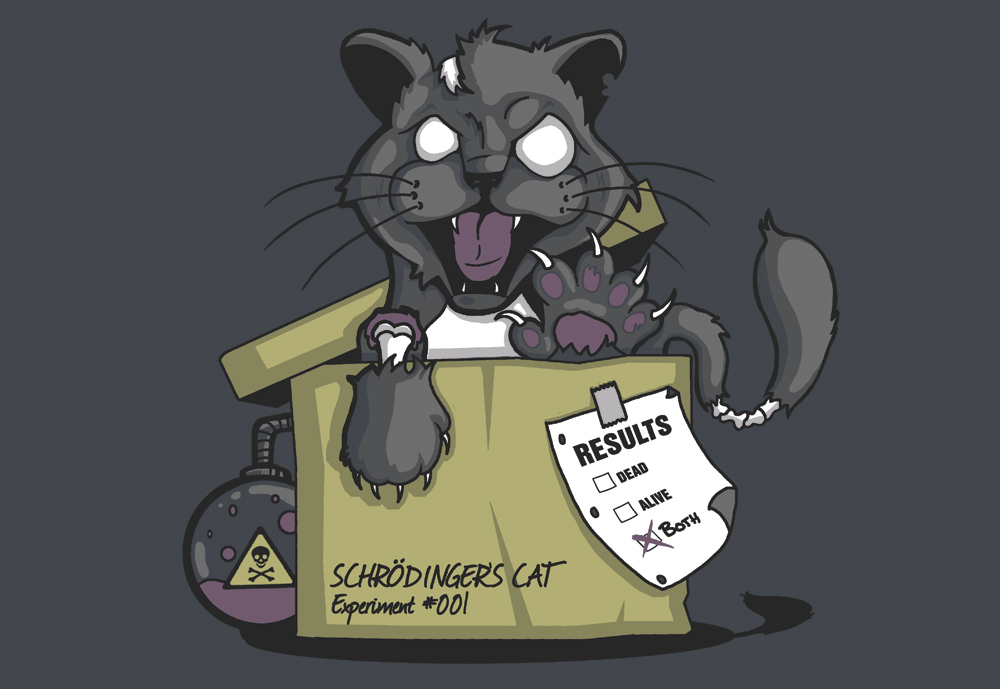 620e499c4 Do You Know Schrödinger's Cat? Now There's Two of Them • Utah ...