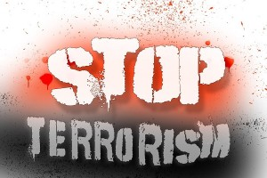 Stop Terrorism Poster