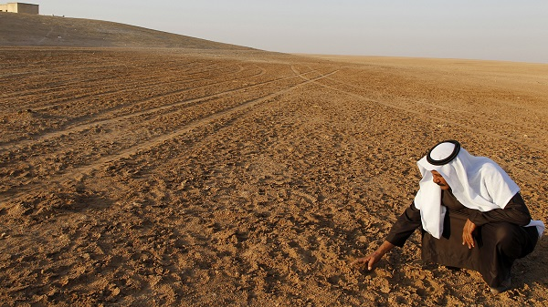 Syrian drought, natural disaster