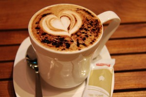 free coffee offered by coffee stores