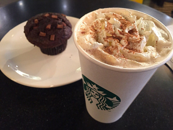 Starbucks pumpkin spice latte is very popular during fall