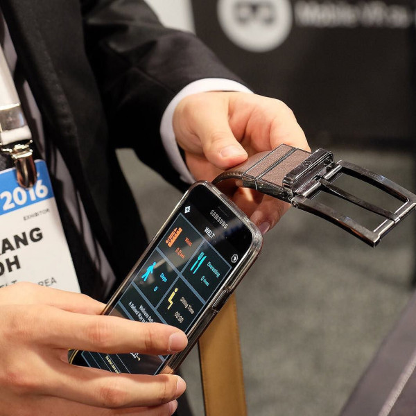 Samsung hopes to ship it's smart belt by January 2017.