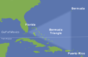 bermuda triangle map