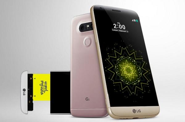 LG modular phone