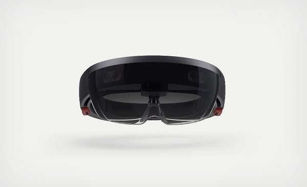 HoloLens front view