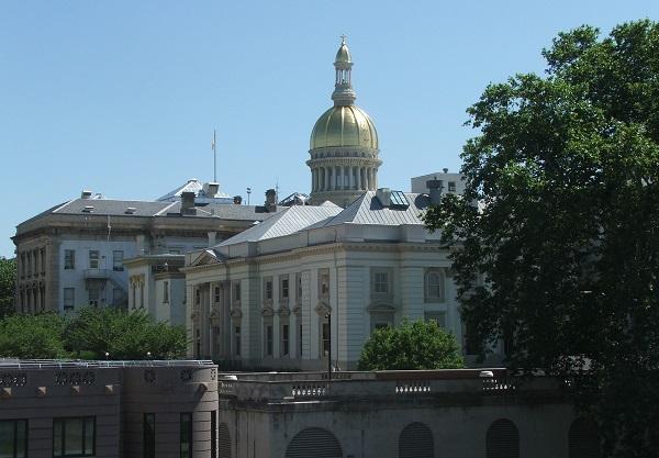 New Jersey state legislature exterior