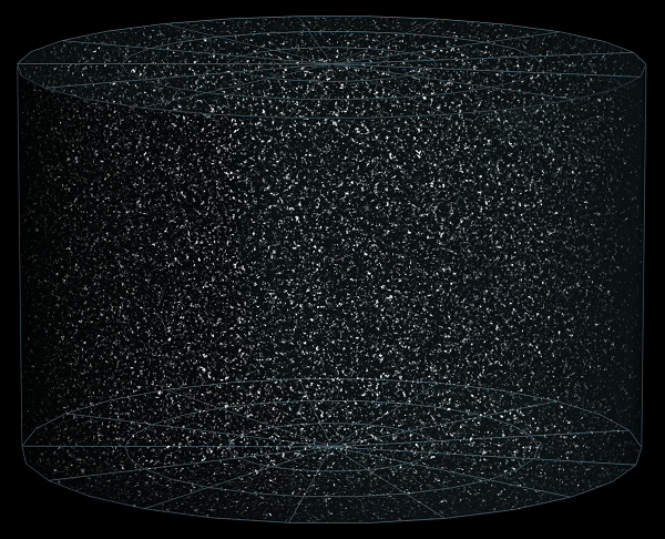 representation of the observable universe