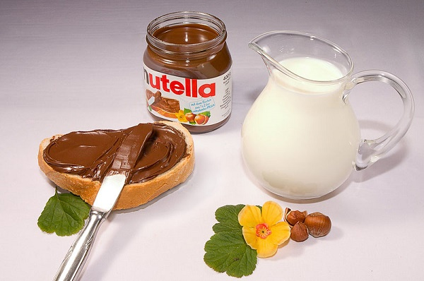 Nutella serving size