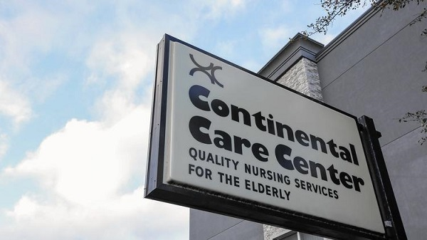 continental care center sign