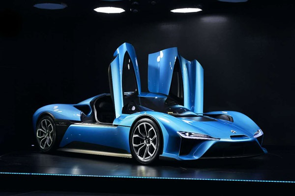 Nio EP9 electric supercar