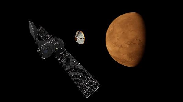 ExoMars Mission near Mars