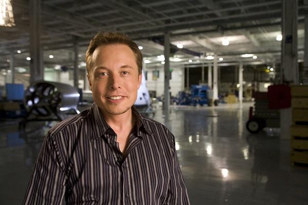 Elon Musk close-up photo