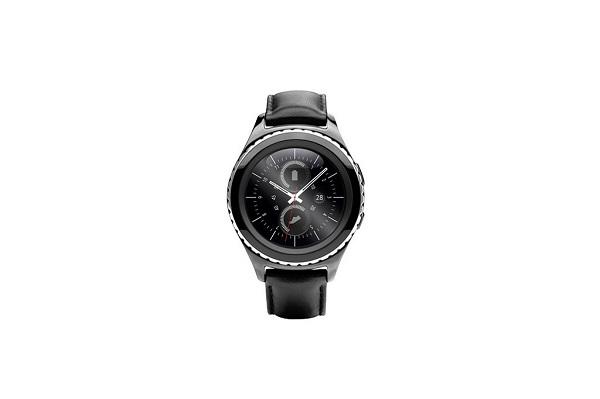 black Samsung Gear S2