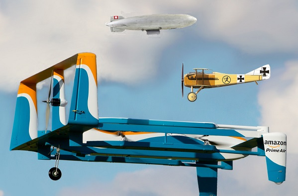 amazon prime air delivery drones