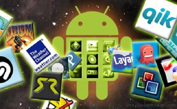 Android apps and robot