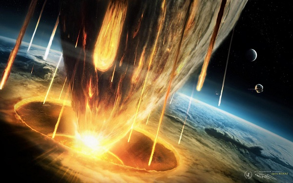least destructive effects of an asteroid strike