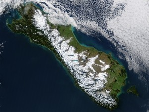 alpine fault satellite image