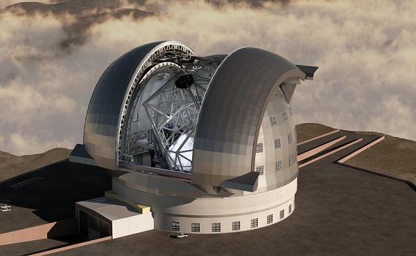 elt largest telescope under construction