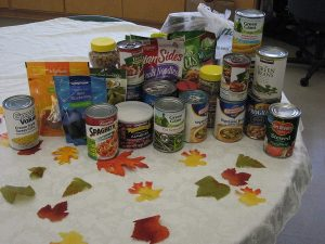 blessing box canned food