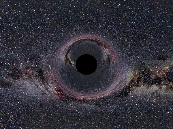 100 million black holes up close