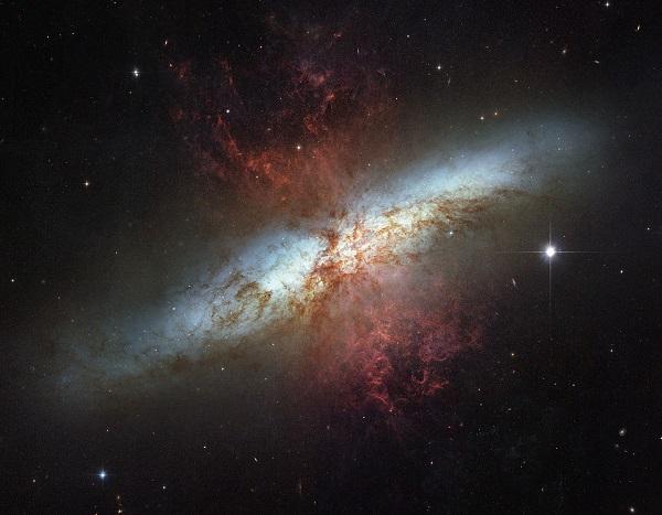 Peculiarly shaped galaxy
