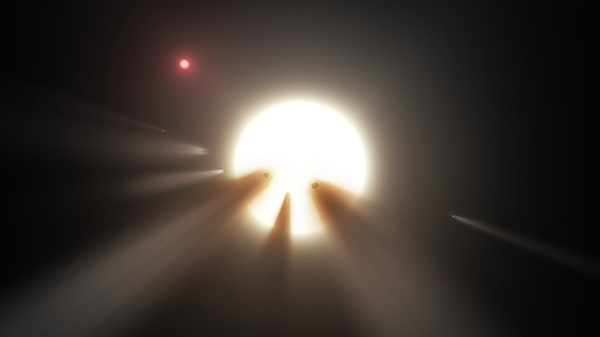Comets overshadowing the dimming Tabby's Star