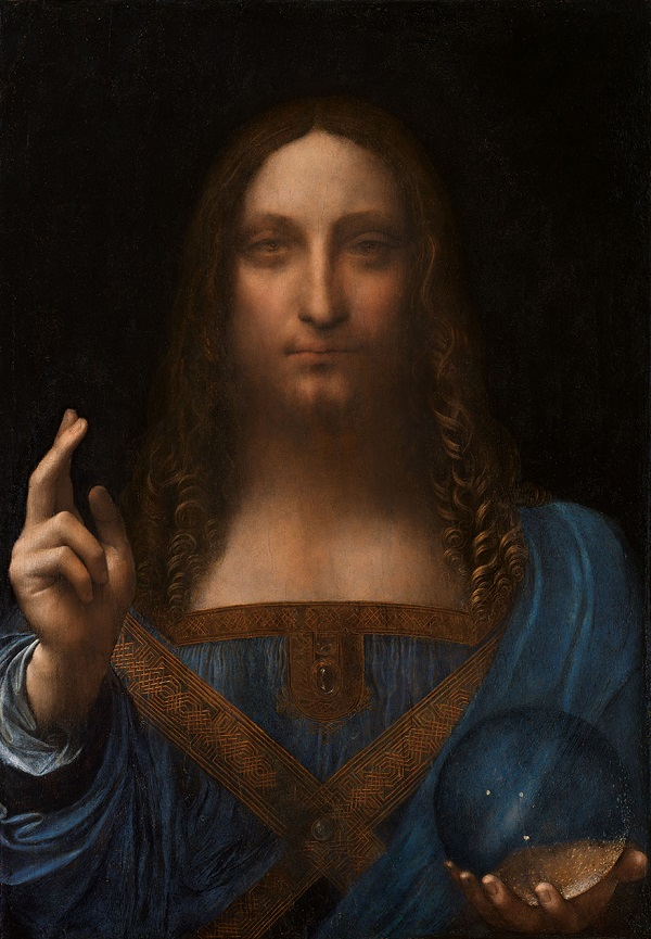 DaVinci's Portrait of Christ 'Salvator Mundi'
