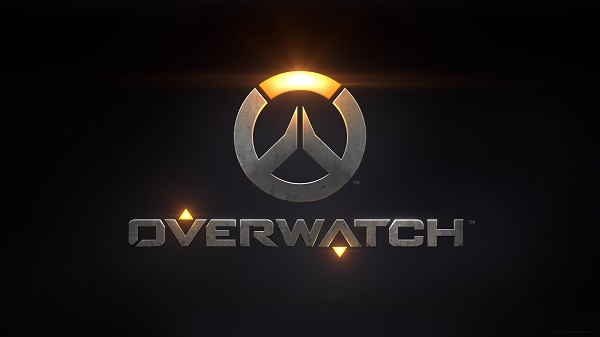 Overwatch logo on a black background