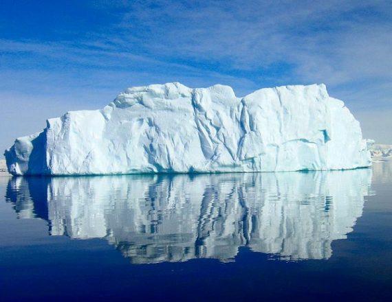 This Calving Iceberg in Antarctica Stuns NASA Scientists