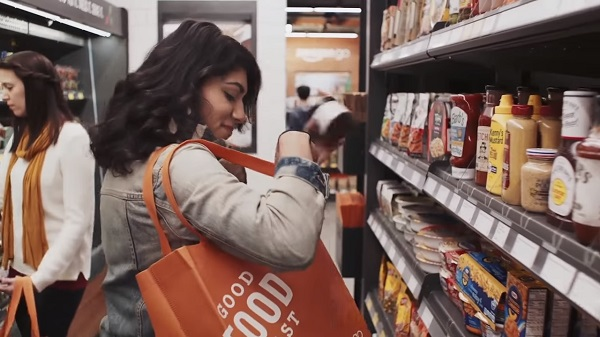 Amazon Go shopper