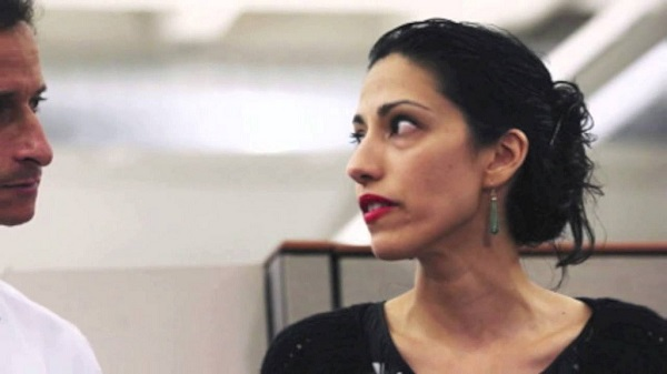 Former Congressman Anthony Weiner and Estranged Wife Huma Abedin