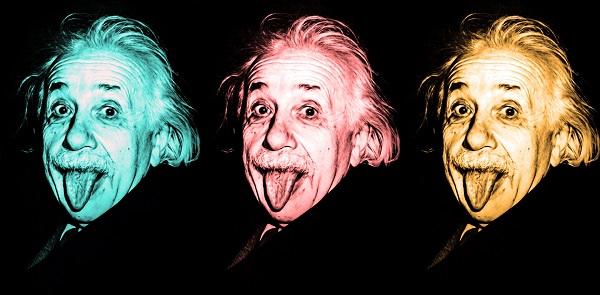 Funny Albert Einstein